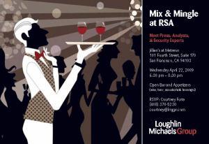 Loughlin/Michaels Group Mix & Mingle at RSA